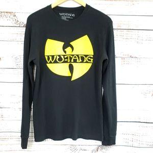Wu-tang clan thermal black yellow 90s
